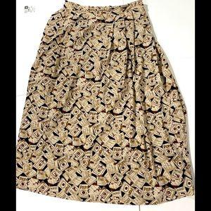 Pendleton Sophisticates Size 14 Over Knee Skirt
